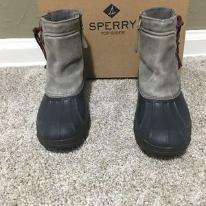 Sperry Top Sider Wedge Duck Boots
